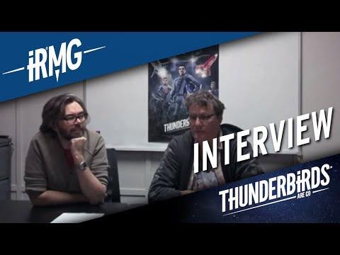 Thunderbirds Are Go | Interview - David Scott & Richard Taylor on The 4.30 Show