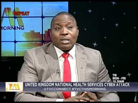 This Morning 15th May 2017 | UK National Health Services Cyb