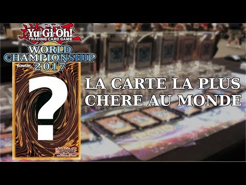 Yu Gi Oh La Carte La Plus Rare Au Monde Youtube