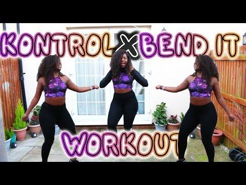KONTROL X BEND IT  MALEEK BERRY   AFROBEAT DANCE WORKOUT   Scola Dondo