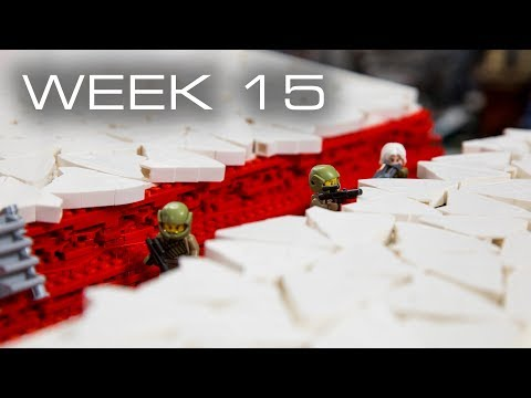 Building Crait in LEGO - Week 15: Covering Section 2