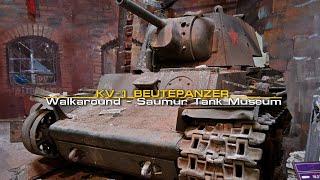 KV-1 Beutepanzer - (sort of) Walkaround - КВ-1 серийный - Saumur Tank Museum - Musée Des Blindés.