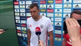 Дзюба - Дмитрий Медведев расшутился в последнее время