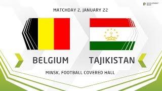 U17. Development Cup - 2019.  Belgium - Tajikistan