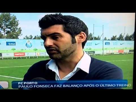 1ª entrevista Paulo Fonseca como ex-treinador do Porto