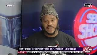 Thiate Y en a marre  traite  Mame Mbaye Niang et Aliou Sall les voleurs de la république
