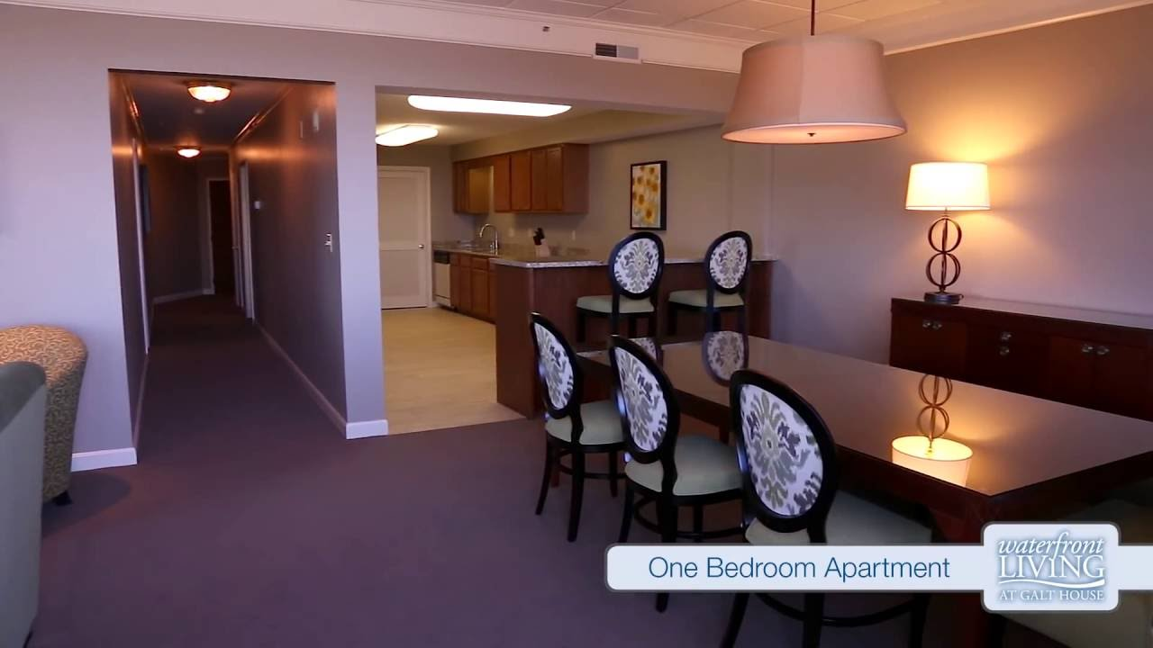 one bedroom apartment- waterfront living at galt house- louisville