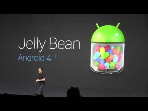Android 4.1 Jelly Bean Announced