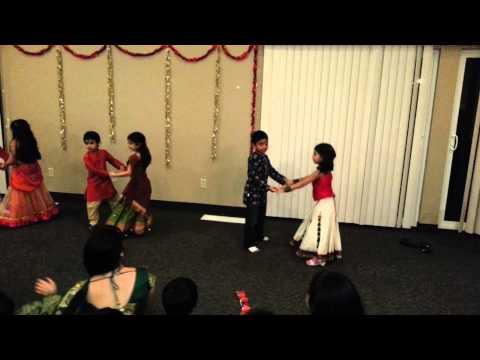 Aanya's Dance - Diwali Party 2012