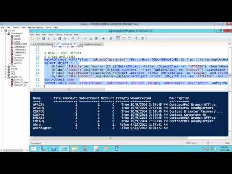 06 - Powershell for Active Directory - Managing and Troubleshooting AD Replication
