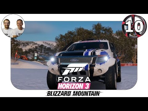 Blizzard Mountain Let's Play - Neue PR Stunts - Gameplay Deutsch Forza Horizon 3 - FH3 BM - #10