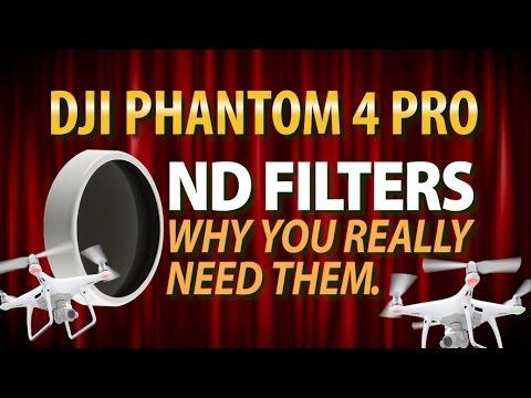DJI Phantom 4 Pro  |  DJI ND8  |  The Importance of ND Filters