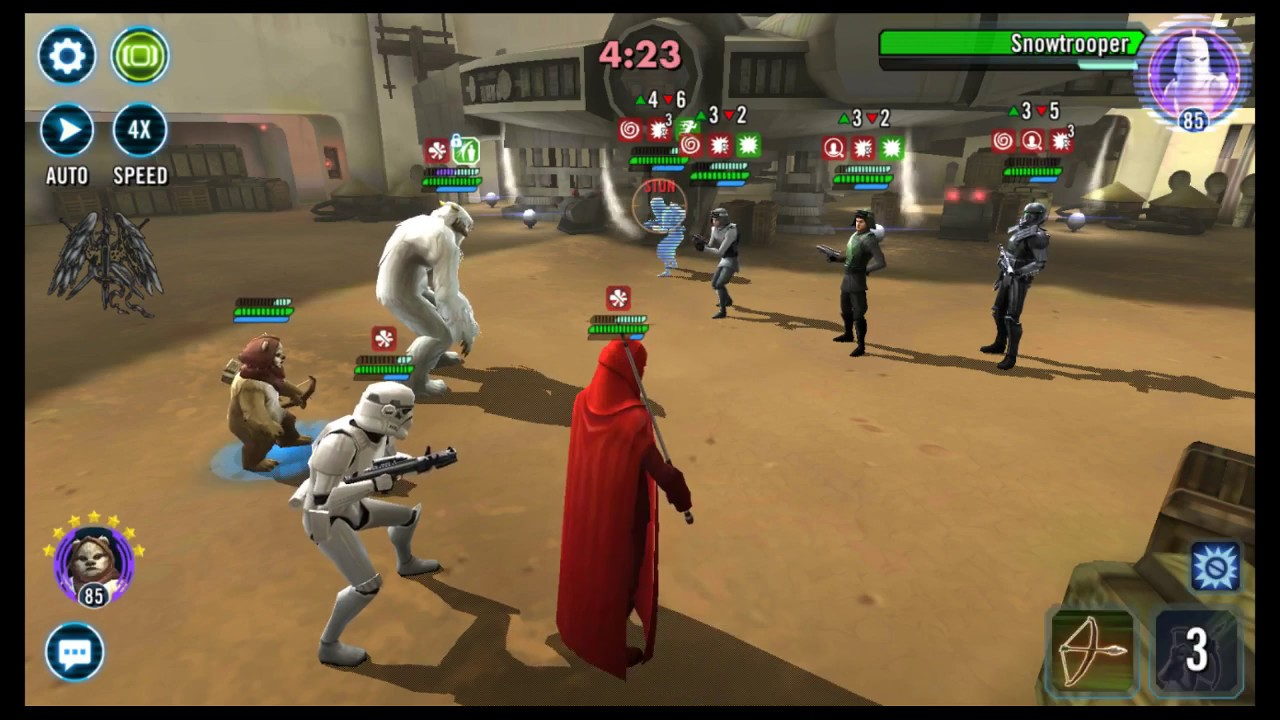 [SWGOH] Star Wars - Quick Grand Arena