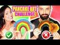 DIBUJOS QUE SE COMEN! Reto Pancake Art Challenge - SandraCiresArt