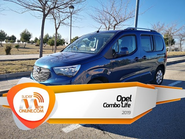 Opel Combo Life 2019 / Al volante / Prueba dinámica / Review / Supermotoronline.com