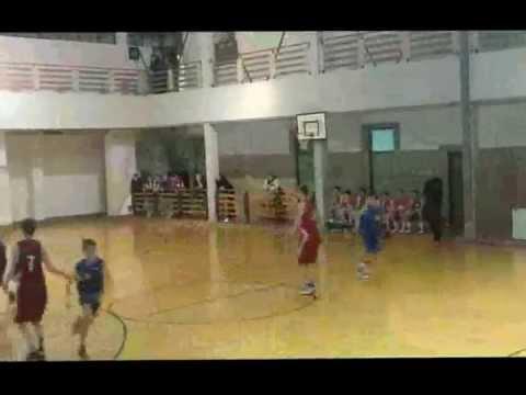 Kadetska utakmica Zrinjevac-Cedevita 12.01.2013