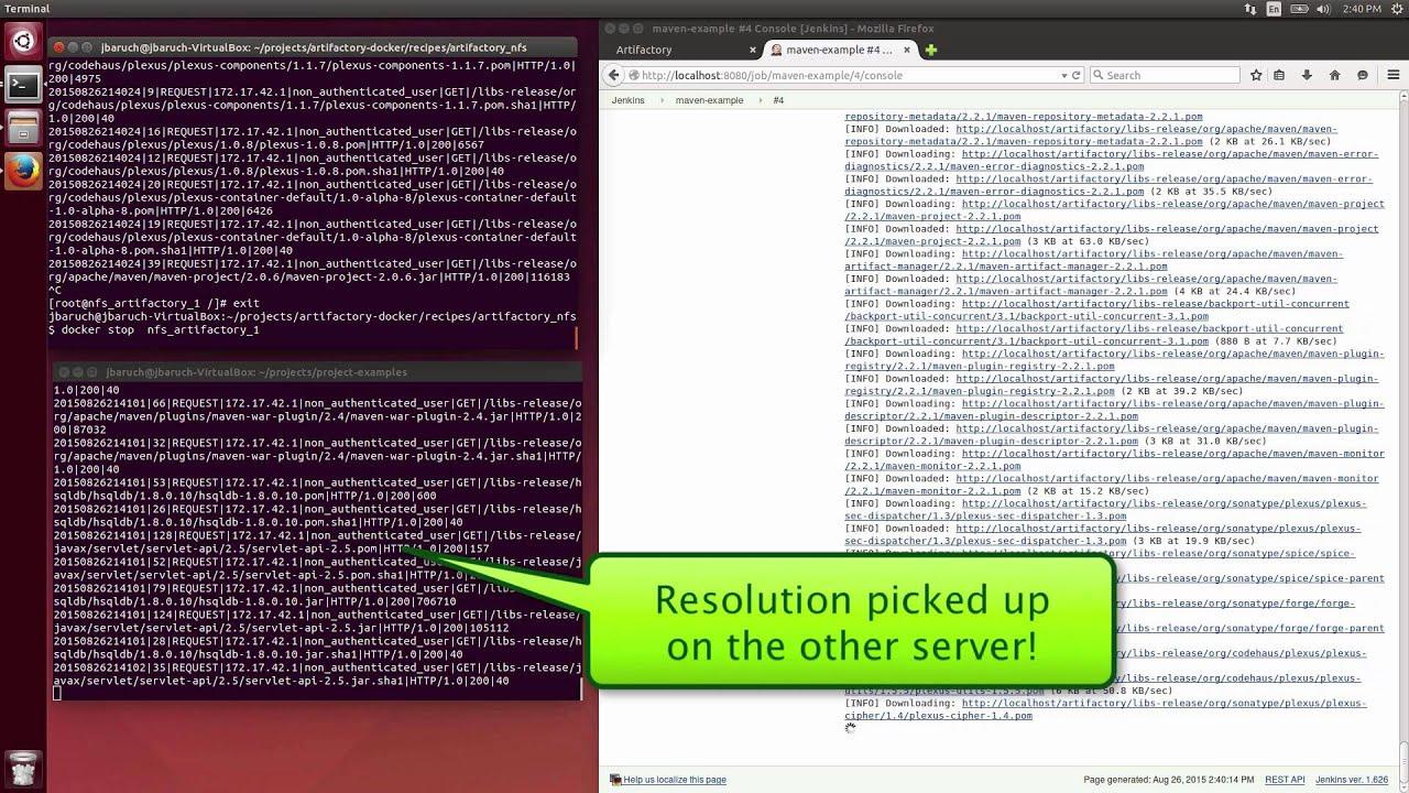 ARTIFACTORY HTTPS DOCKER - ERROR] (o a w s ArtifactoryFilter