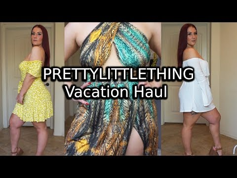 PrettyLittleThing Baecation Vibes Try-On Haul | Ruby Red