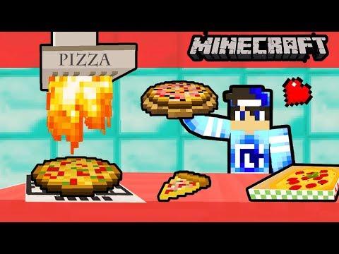 NAJLEPSZA PRO PIZZA ! - MINECRAFT PIZZERIA