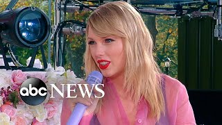 Taylor Swift says she plans to re-record her previous next work next year I Nightline