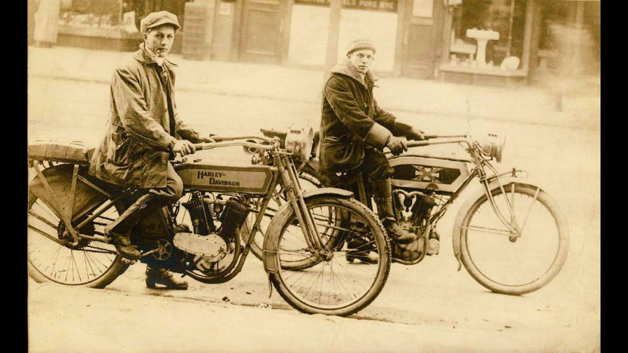 Vintage Harley Motorcycle 67