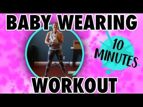 Effective Postpartum Baby Wearing Workout