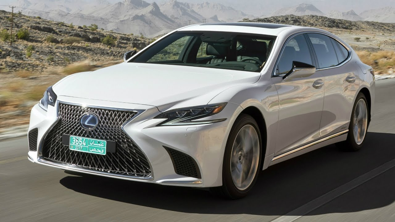 2018 white lexus ls 500h awd driver focused cockpit and luxury interior youtube. Black Bedroom Furniture Sets. Home Design Ideas