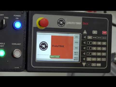 XYZ EMX Milling machine tool programming demonstration