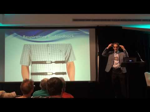 Biofeedback, Neurofeedback and Mindfulness @ IIHS 2015 with Dr. Hal Myers | Thought Technology