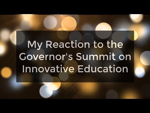 ND Governor's Summit on Innovative Education