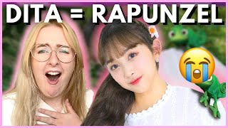 CODE/SN Stan Reacts to SECRET FUN EP.05 | DITA & DENISE SING TANGLED | Hallyu Doing