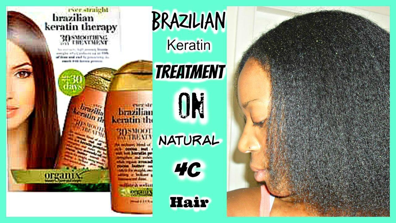 keratin treatment on 4c hair