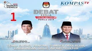 Download Video LIVE Debat Kedua Capres Pemilu 2019 -- Jokowi vs Prabowo -- [1] MP3 3GP MP4