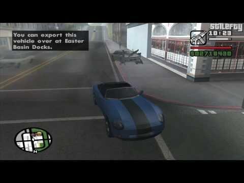 GTA San Andreas - Import/Export Vehicle #21 - Banshee