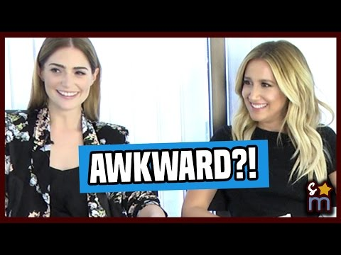 Ashley Tisdale Talks AWKWARD Sex Scenes in AMATEUR NIGHT Cast Interviews