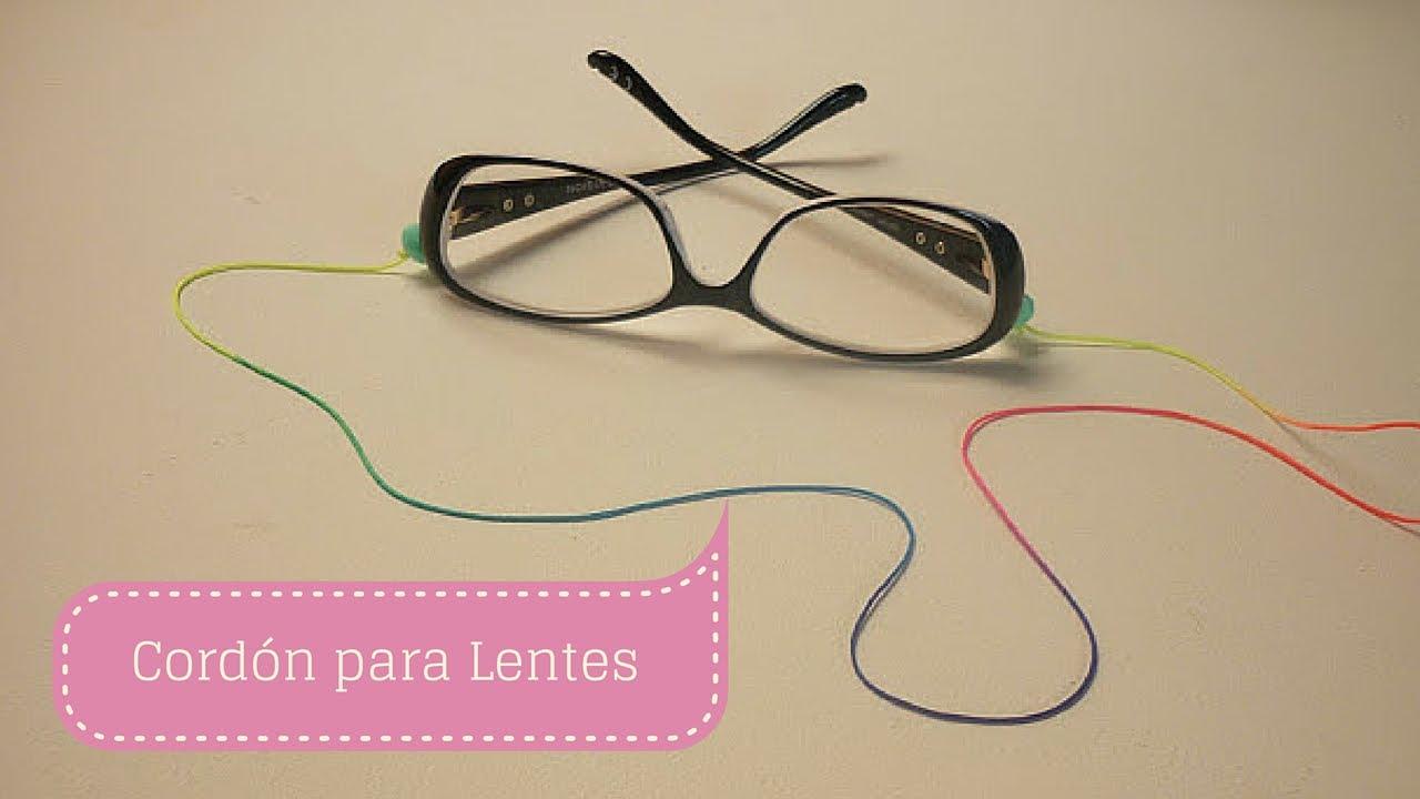 37f97a23df05 Sor Amparo Arredondo R.  Manualidades  CORDÓN para LENTES o gafas Fácil  Bisutería  DIY ♥