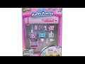 Shopkins Happy Places Bunny Laundry Decorator Pack Unboxing Review