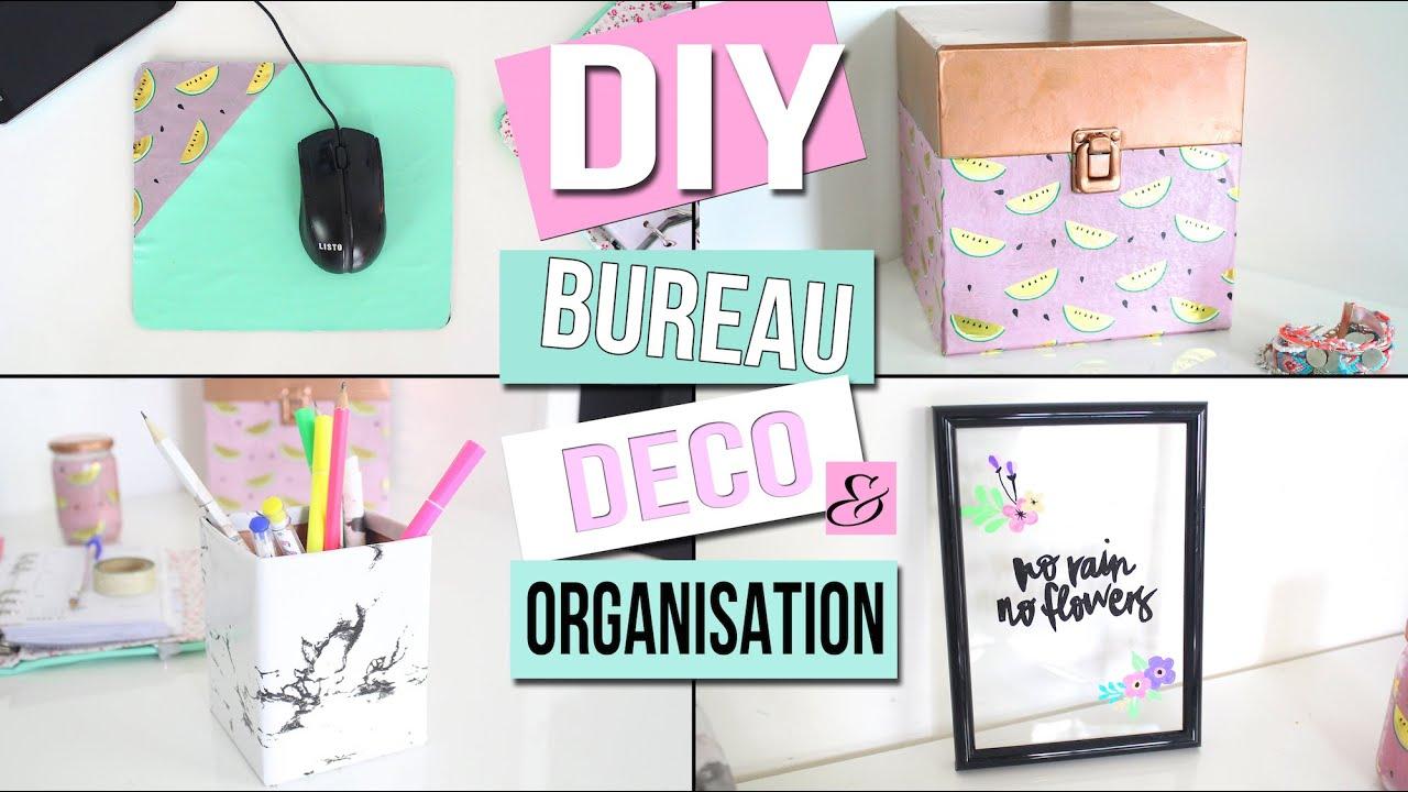 DIY DECO ET ORGANISATION BUREAU recyclez vos vieilles