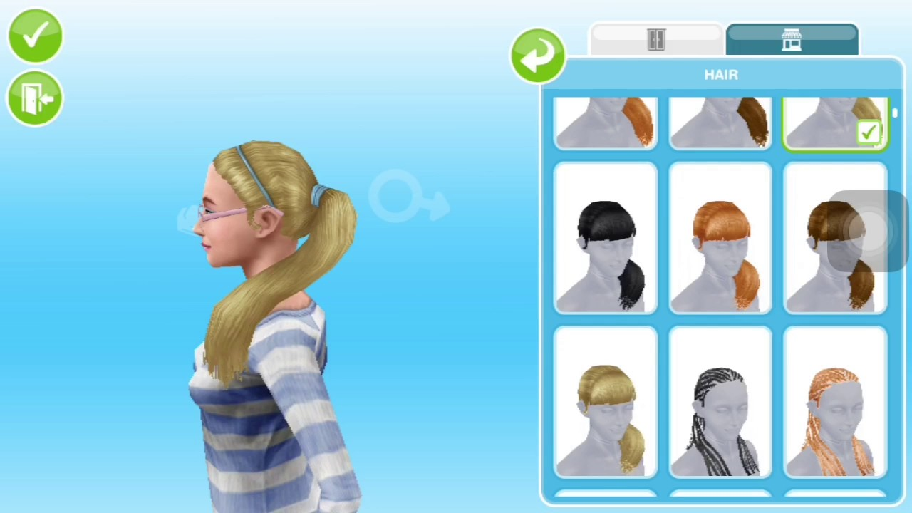 The sims freeplay long hairstyle - The Sims Freeplay Long Hairstyle 43
