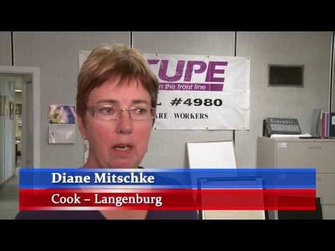 CUPE Health Care Members in Saskatchewan comment