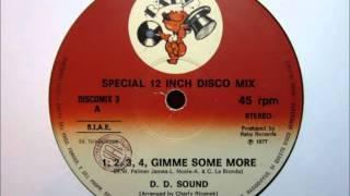 D.D. Sound - 1,2,3,4, Gimme Some More.wmv