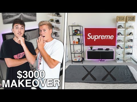 Surprising My Camera-man With A Dream Sneaker Room Makeover!