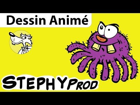 Araignée, le dessin animé de la chanson pour les enfants