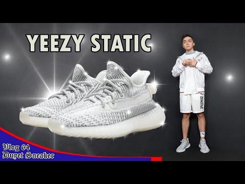 7a78bba84be Cẩn thận với giày tích điện Yeezy V3 Static – Cái giá của Reflective | Vlog  64 – Duyet Sneaker