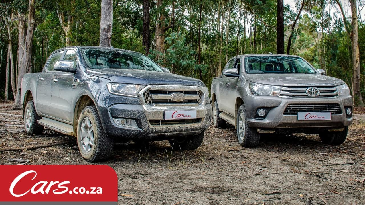 2016 Toyota Hilux vs Ford Ranger - Offroad & Review - YouTube