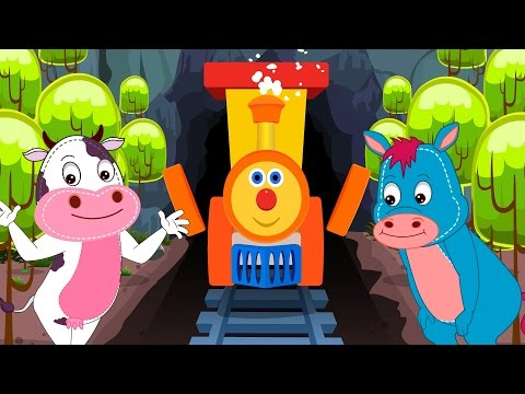 Thumbnail: Ben the train | Animal Sound Song | Nursery Rhymes | Kids Songs