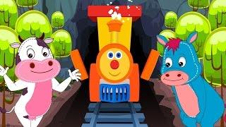 Ben the train | Animal Sound Song | Nursery Rhymes | Kids Songs