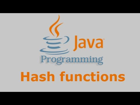 Java Tutorial - Hash functions (MD2, MD5, SHA-1, SHA-224, SHA-256, SHA-384, SHA-512)