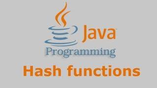 Download Mp3 Java Tutorial - Hash Functions  Md2, Md5, Sha-1, Sha-224, Sha-256, Sha-384, Sha-