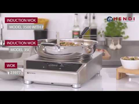 plaque induction professionnelle speciale wok hendi youtube. Black Bedroom Furniture Sets. Home Design Ideas